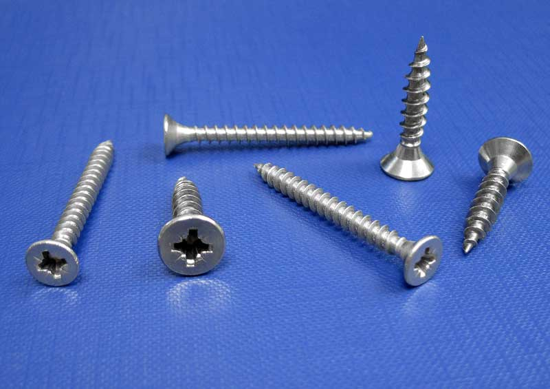 Chipboard Screws C/sk Pozi Fully Threaded 3mm up to 6.0mm L9067 A4
