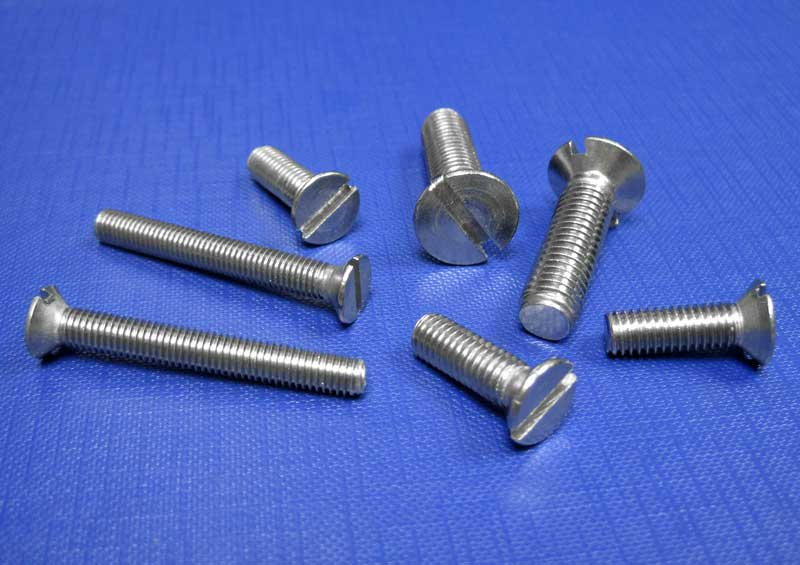 Countersunk Slotted Screws (A2) - M1.6 up to M20 Din963