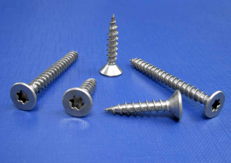 Chipboard Screws Six Lobe Drive Fully Threaded 3mm up to 6.0mm L9067ISR