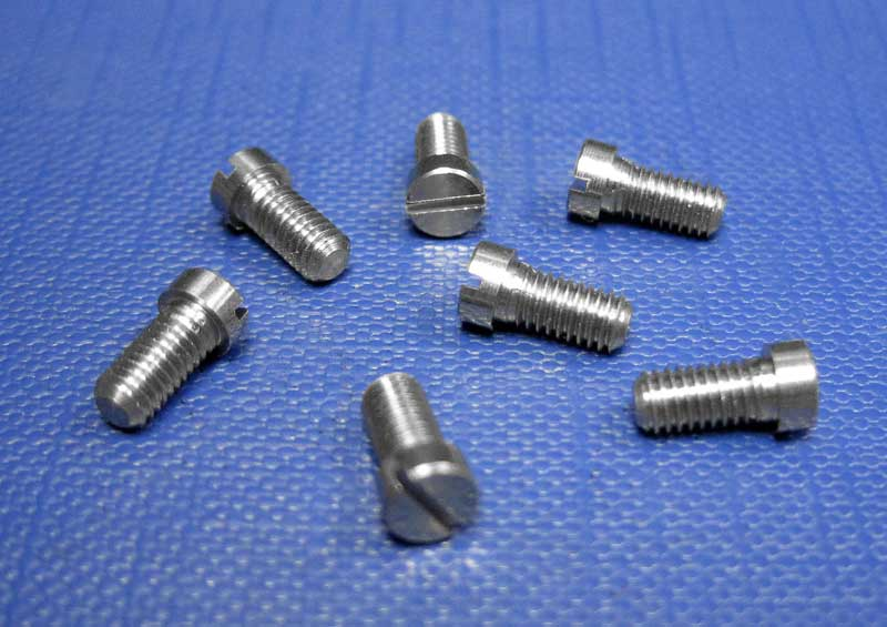 Pan Head Slotted Screws Small Head A2