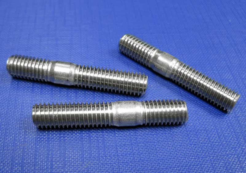 Engineers Stud (Metal End 2 X D) M6 up to M20 Din835 A2