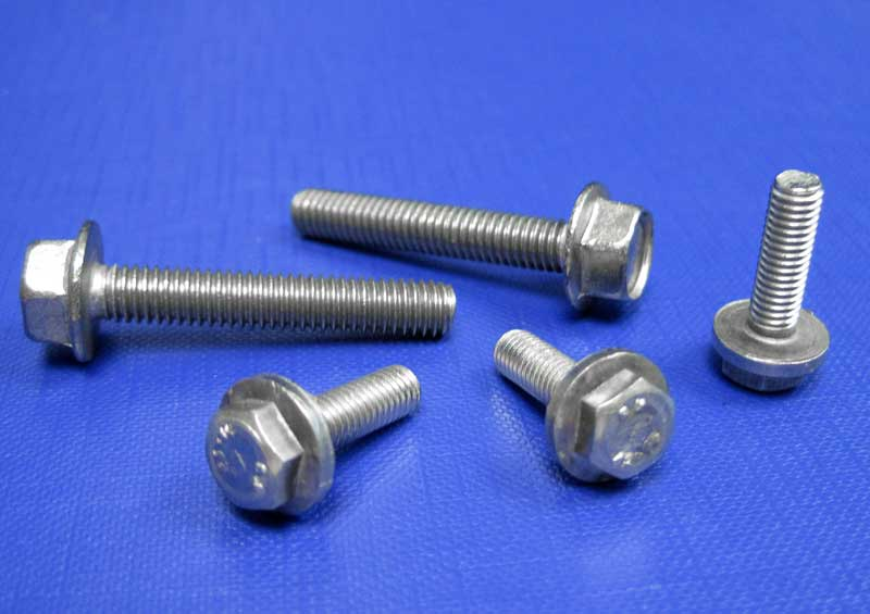 Flanged Hexagon Setscrews M5-M10 A2 Din6921