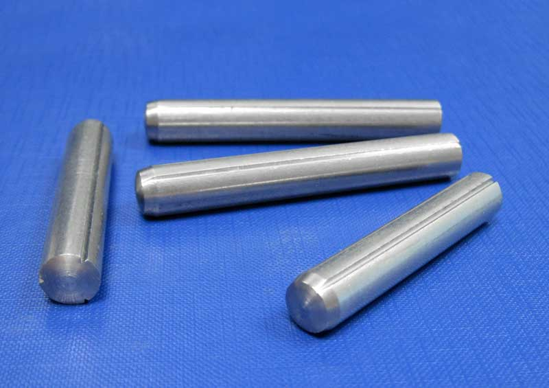 Grooved Pins Full Length Parallel Groove With Chamfer 2mm up to 10mm Din1473