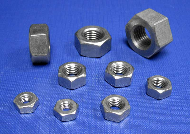 Hexagon Full Nuts BSF A2 BS1083