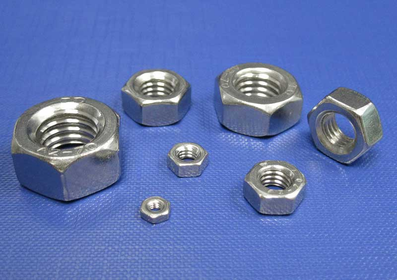Hexagon Full Nuts 1.4571 (316ti) M6 up to M20 Din934