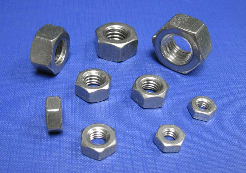 Hexagon Full Nuts BSW (WHIT) A2 BS1083