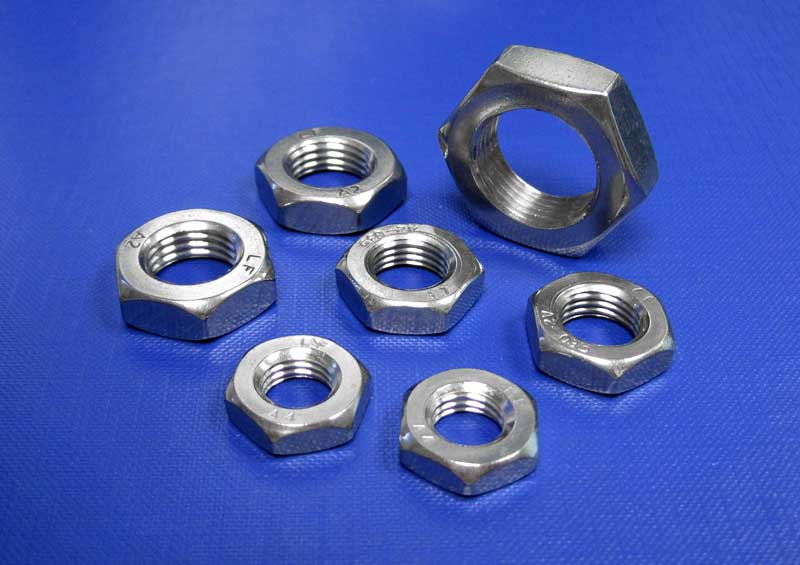 Hexagon Lock Nut Form B Fine Pitch M8 up to M36 Din439