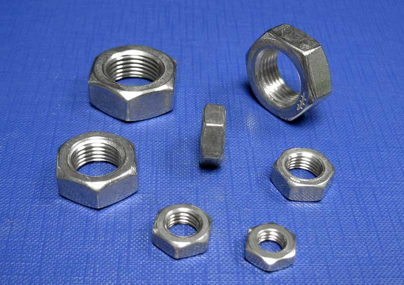Hexagon Lock Nuts UNF A2 BS 1768/BS 1981/ANSI B18.2.2