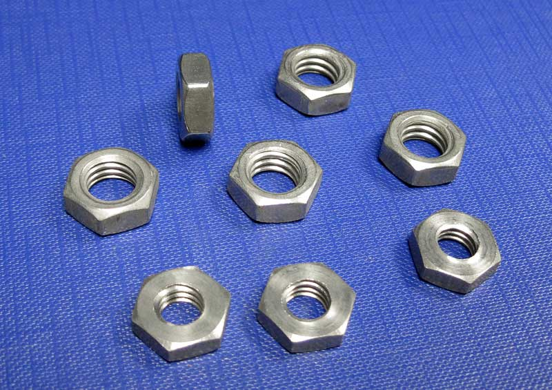 Hexagon Lock Nuts BSW (WHIT) A2 BS1083