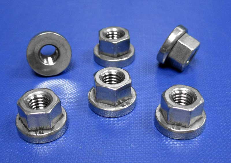 Hexagon Nuts With Collar H = 1.5 X D M8 up to M30 Din6331