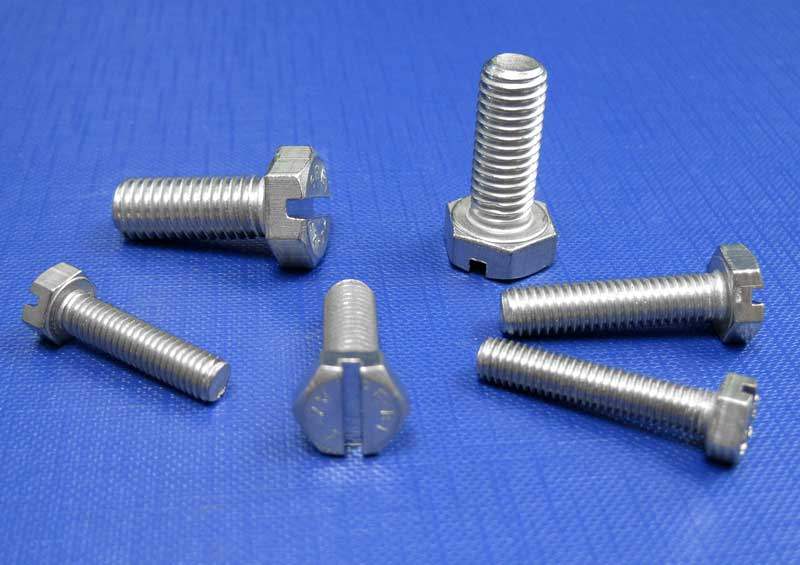 Hexagon Head Setscrews Slotted A2 M3 up to M8 Din933