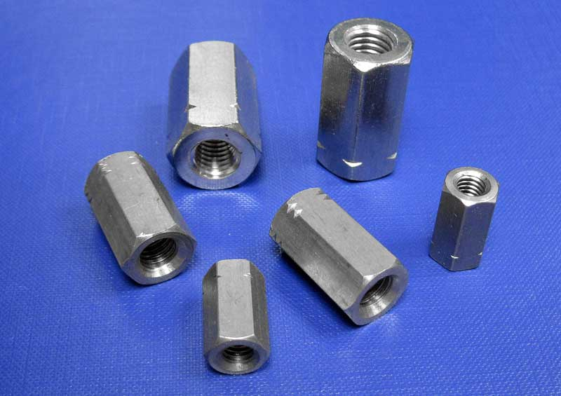 Hexagon Nut (Stud Connector) H = 3 x D M6 up to M24 Din6334