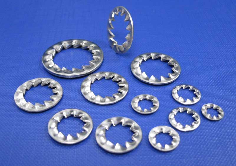 Serrated Lock Washers Form A & I M2 up to M30 Din6798