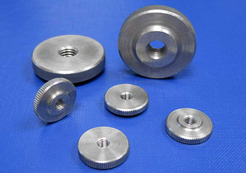 Knurled Thumb Nut Thin Type M3 up to M10 Din467