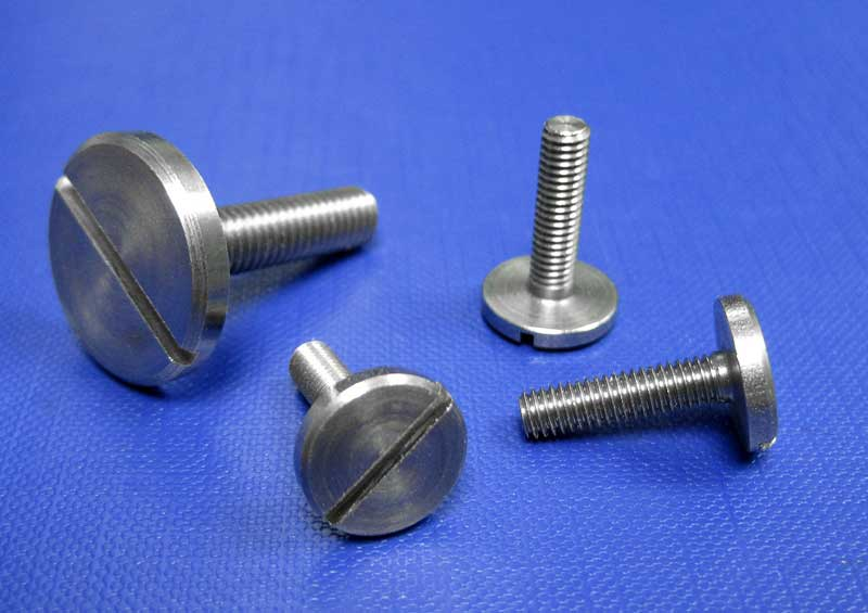 Slotted Pan Head Screws Large Head (303) A1 - M3 up to M8 Din921