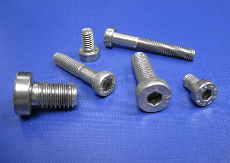 Socket Head Cap Screws Low Head M3 up to M20 Din7984-A2