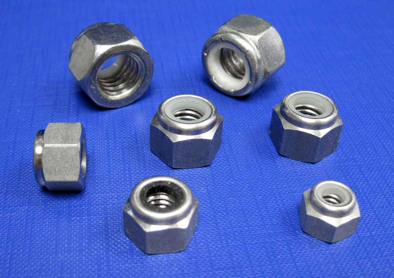 Nylon Nuts BSW A2