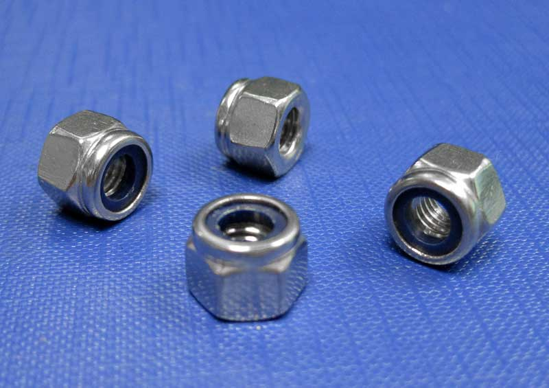 Nylon Insert Self Locking Nuts Thick Type M5 up to M20 Din982
