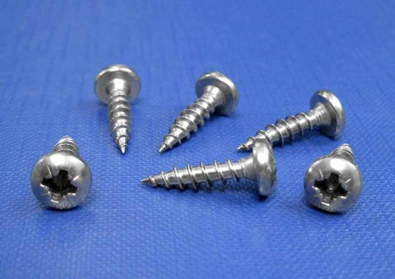 Chipboard Screws Pan Pozi Fully Threaded 3mm up to 6.0mm L9068