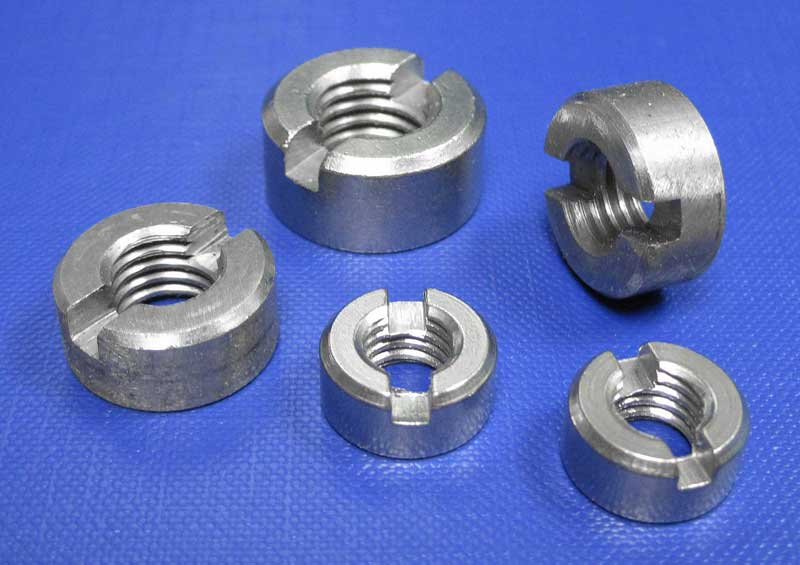 Round Slotted Nut M1.4 up to M12 Din546