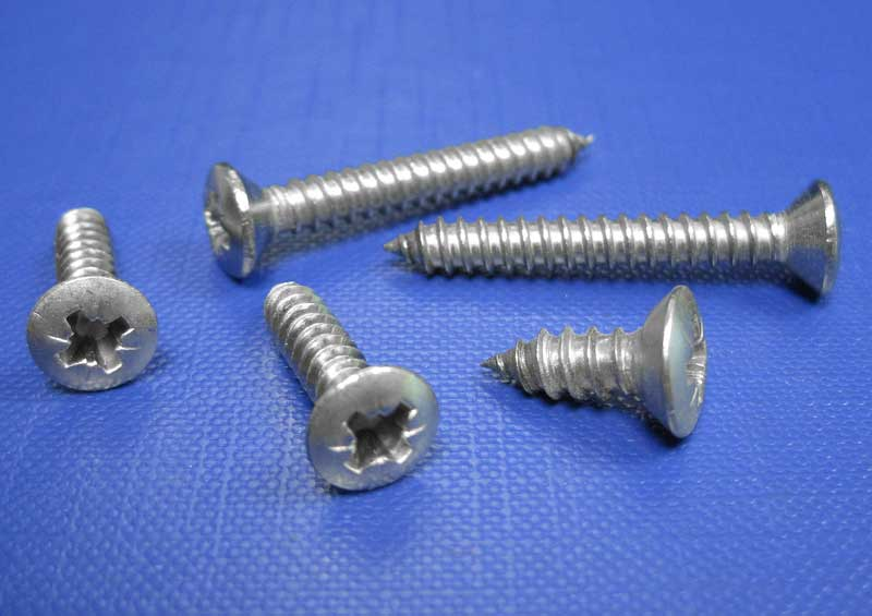 Rsd C/sk Pozi Self Tapping Screws Type C Point A4-CZ