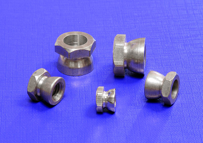 M2.5 2.5mm STAINLESS STEEL A2 NYLOC INSERT NUTS TO FIT SCREWS /& BOLTS DIN 985