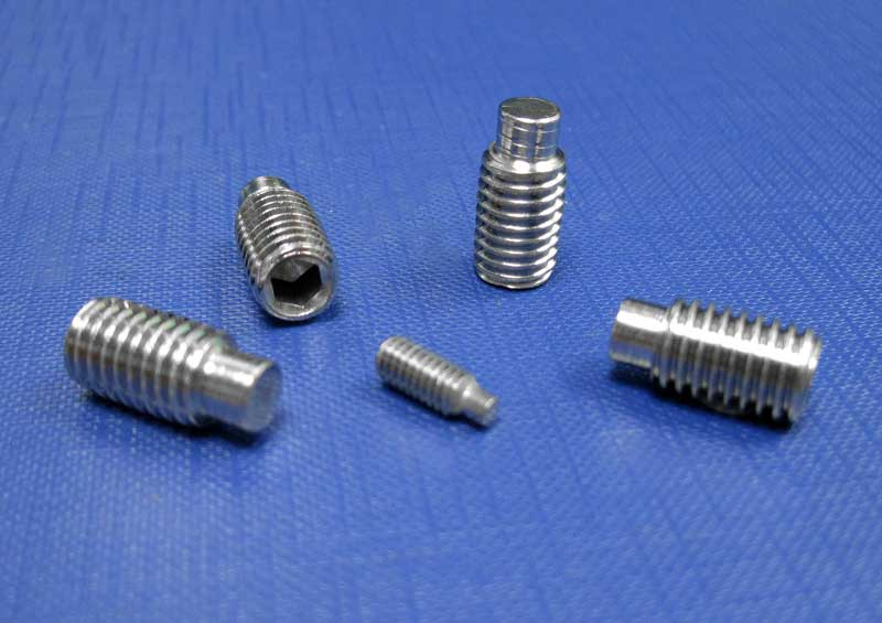 Socket Setscrews Dog Point M2- up to 20 (A2) Din 915