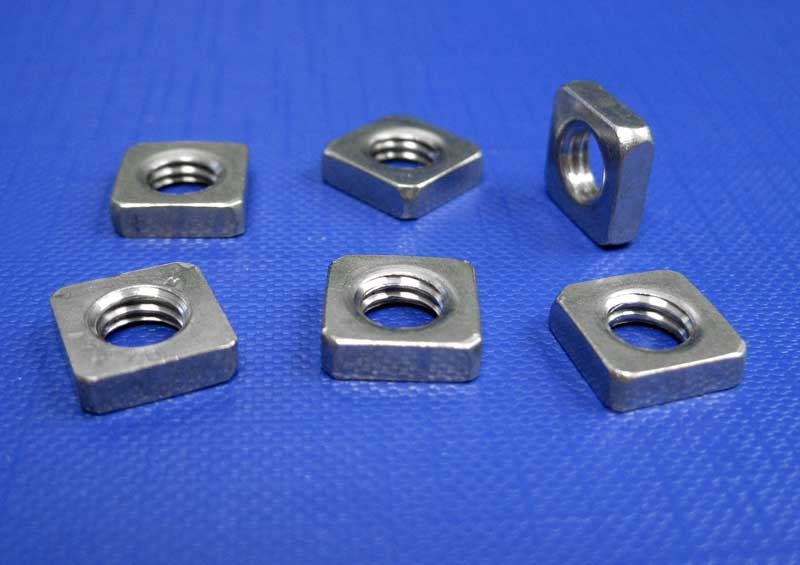 Square Nut Thin Type M2 up to M10 Din562 (A2 - A4)