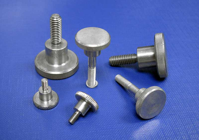 Knurled Thumb Screws High Type M3 up to M6 Din464