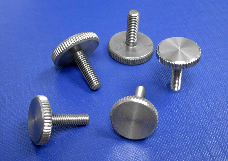 Knurled Thumbscrews Thin Type DIN653