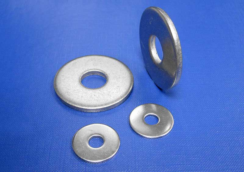 Plain Washers 3 X Diam M2.5 up to M24 Din9021 A2 & A4