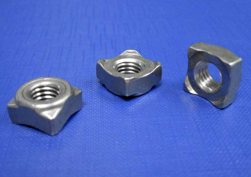 Square Weld Nuts A2 M5 up to M8 Din928